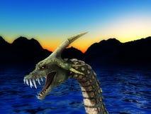 Monstre de mer Image stock