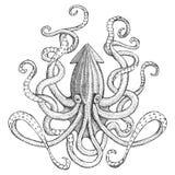 Monstre de mer illustration stock
