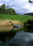 Monstre de Nesss de loch Photographie stock libre de droits