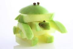 monstre de pomme Photos stock