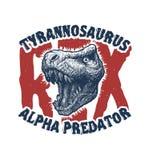 Monstre de Trex de tête de dinosaure Photographie stock libre de droits