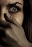 Monstre et victime Photographie stock libre de droits