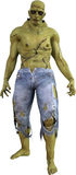 Monstre mauvais de Halloween Frankenstein d'isolement Images libres de droits
