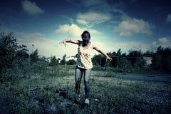 Monstre mauvais de zombi Photographie stock libre de droits