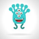 Monstre mignon cartoon Images stock