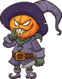 Monstre rampant de Halloween Images libres de droits
