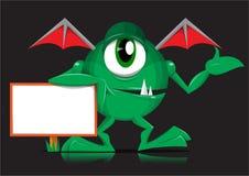 Monstre vert Images stock