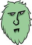 Monstre vert photos stock