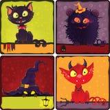 Monstres de Halloween Images libres de droits