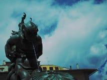 Monstres de mer de fontaine Photographie stock libre de droits