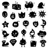 Monstres drôles Image libre de droits