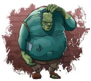 Monstres du ` s de Halloween : Monstre de Dr. Frankenstein illustration stock