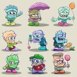 monstres mignons de dessin animé Photo libre de droits