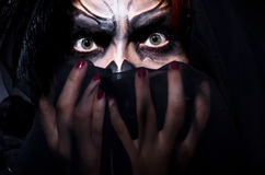Monstro assustador Imagem de Stock Royalty Free