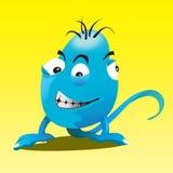 Monstro azul Ilustração Royalty Free