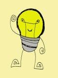 Monstro bonitos dos desenhos animados Imagens de Stock Royalty Free