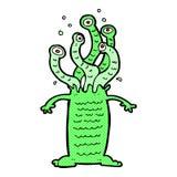 monstro cômico dos desenhos animados Foto de Stock