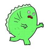 monstro cômico dos desenhos animados Fotos de Stock Royalty Free