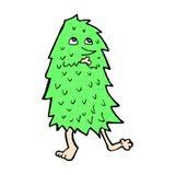 monstro cômico dos desenhos animados Imagens de Stock Royalty Free