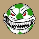 Monstro da bola de Dia das Bruxas Foto de Stock Royalty Free