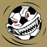 Monstro da bola de Dia das Bruxas Foto de Stock