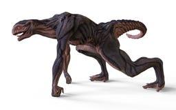 monstro da ilustração 3D Imagens de Stock