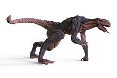 monstro da ilustração 3D Fotografia de Stock Royalty Free