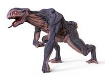 monstro da ilustração 3D Imagem de Stock Royalty Free