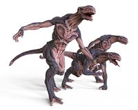 monstro da ilustração 3D Fotos de Stock