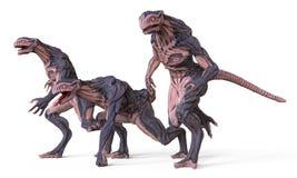 monstro da ilustração 3D Fotos de Stock Royalty Free