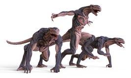 monstro da ilustração 3D Fotografia de Stock