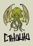 Monstro de Cthulhu Foto de Stock