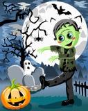Monstro de Dia das Bruxas Frankenstein Foto de Stock Royalty Free