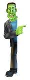 Monstro de Dia das Bruxas Frankenstein Imagem de Stock