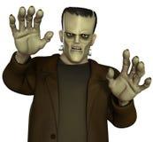 Monstro de Frankenstein Fotos de Stock Royalty Free