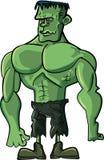 Monstro de Frankenstein dos desenhos animados Fotos de Stock Royalty Free