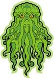 Monstro de mar Cthulhu Imagens de Stock