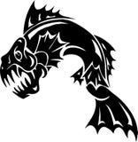 Monstro de mar - ilustração do vetor. Vinil-pronto. Fotos de Stock Royalty Free