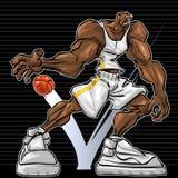 Monstro de NBA Foto de Stock Royalty Free
