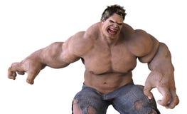 monstro do gigante da ilustração 3D Fotografia de Stock