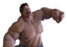 monstro do gigante da ilustração 3D Foto de Stock