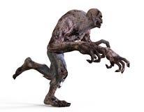 monstro do zombi da ilustração 3D Foto de Stock Royalty Free