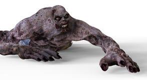 monstro do zombi da ilustração 3D Fotos de Stock