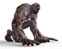 monstro do zombi da ilustração 3D Imagens de Stock Royalty Free