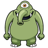 Monstro dos desenhos animados Imagens de Stock