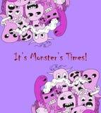 Monstro dos desenhos animados Imagem de Stock Royalty Free