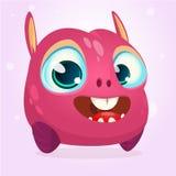 Monstro feliz dos desenhos animados Fotografia de Stock