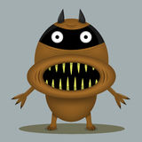 Monstro irritado do horror Foto de Stock