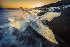 Monstro Islândia do gelo Imagens de Stock
