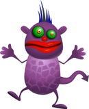 Monstro roxo Imagem de Stock Royalty Free